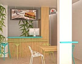 Nro 6 kilpailuun 3D Interior Design for Food Store käyttäjältä arqdavidurbaez