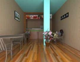 Nro 25 kilpailuun 3D Interior Design for Food Store käyttäjältä trongnghiabk2005