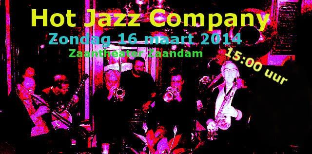 #3 for Design a simple band advertisement for Hot Jazz Company by husarvasile
