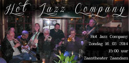 #8 for Design a simple band advertisement for Hot Jazz Company by djndesigns