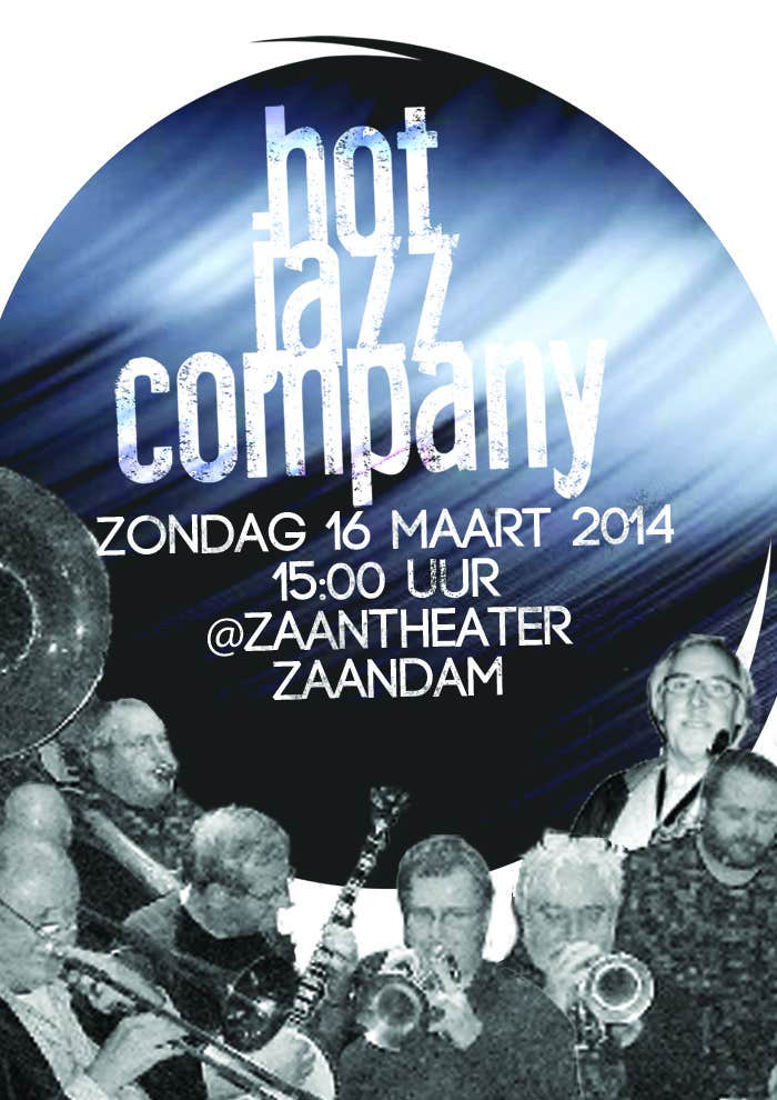 #5 for Design a simple band advertisement for Hot Jazz Company by PFede