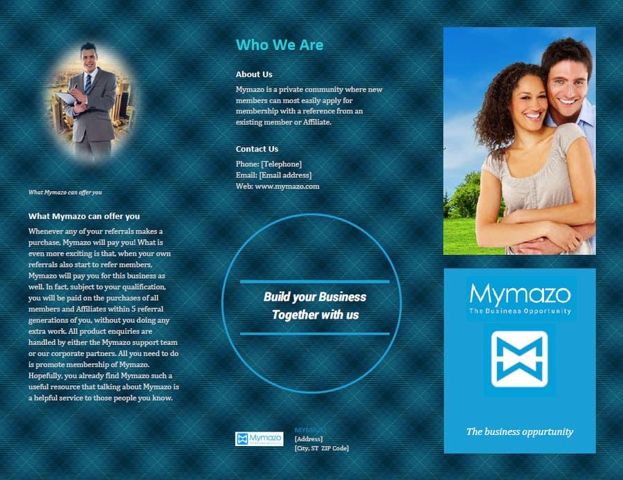 Bài tham dự cuộc thi #21 cho Design a Brochure for network pay plan