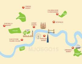 Nro 12 kilpailuun London Market Map käyttäjältä mjosgo15