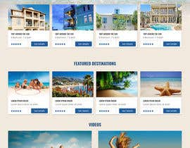 #28 for Design a Website Mockup for Holiday Rentals by webomagus