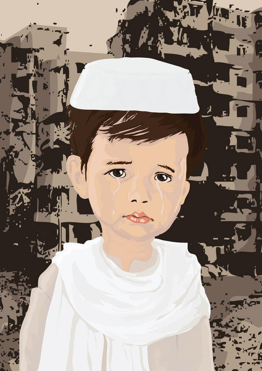 Inscrição nº                                         21                                      do Concurso para                                         Reinvent The Crying Boy painting (Menino da Lagrima)
