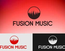 #239 para Logo Design for Fusion Music Group por Lozenger