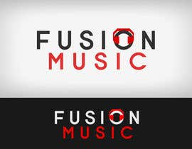 #238 para Logo Design for Fusion Music Group por Lozenger