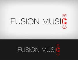#267 para Logo Design for Fusion Music Group por Lozenger