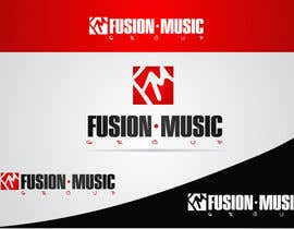 #184 para Logo Design for Fusion Music Group por ngdinc