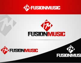 #349 para Logo Design for Fusion Music Group por ngdinc
