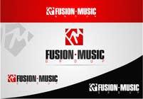 Bài tham dự #283 về Graphic Design cho cuộc thi Logo Design for Fusion Music Group