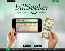 nº 11 pour Design a Website Mockup for BillSeeker.Com par asad12204