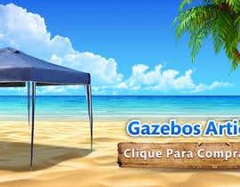 Nro 26 kilpailuun Design a Banner - Gazebo on the beach käyttäjältä orientecreativo