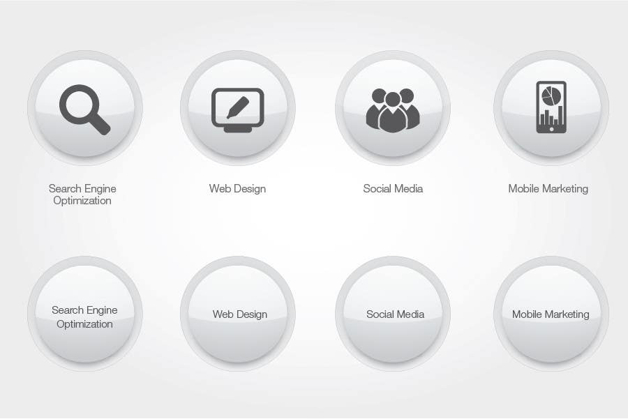 #69 for Button Design for Homepage Icons by alexisco