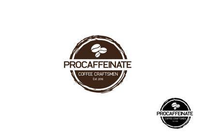 shamazohora1 tarafından Design a Logo for a small coffee roasting business in New Zealand called Procaffeinate için no 7