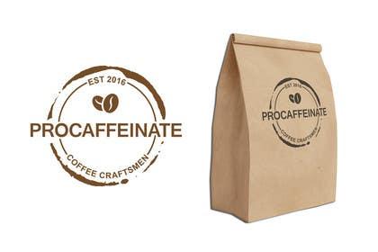 aliciavector tarafından Design a Logo for a small coffee roasting business in New Zealand called Procaffeinate için no 69