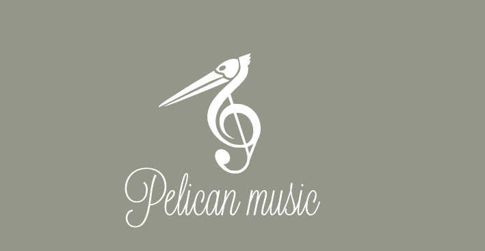 """Bài tham dự cuộc thi #33 cho Design a Logo for """"Pelican Music"""""""