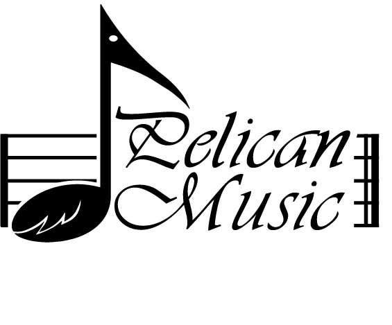 """Bài tham dự cuộc thi #58 cho Design a Logo for """"Pelican Music"""""""