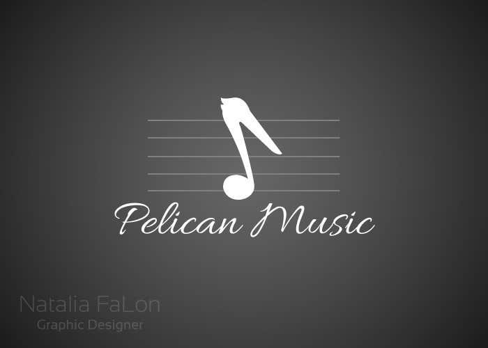 """Bài tham dự cuộc thi #82 cho Design a Logo for """"Pelican Music"""""""
