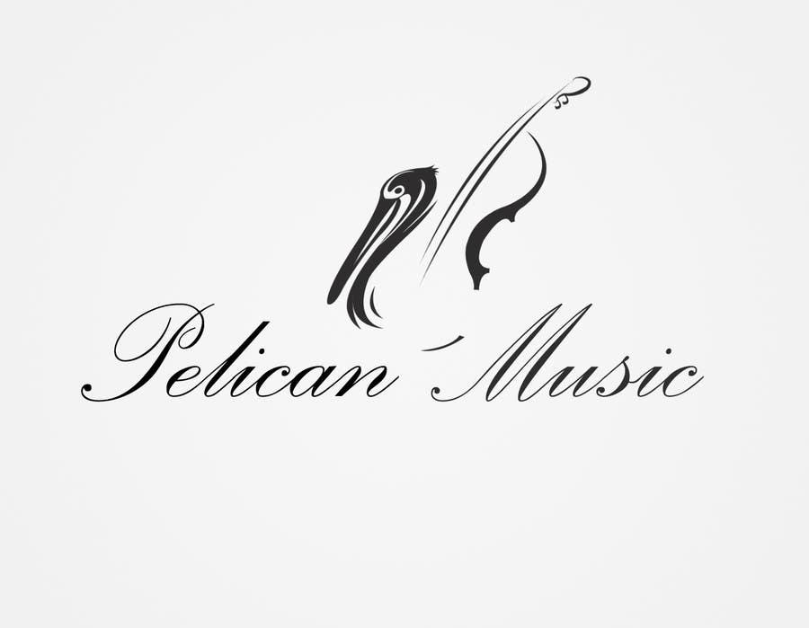 """Bài tham dự cuộc thi #62 cho Design a Logo for """"Pelican Music"""""""