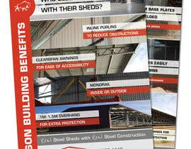 Nro 17 kilpailuun Update the design of a Brochure käyttäjältä DaveWL