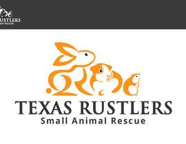 #26 for Design a Logo for Texas Rustlers Small Animal Rescue by alexisbigcas11