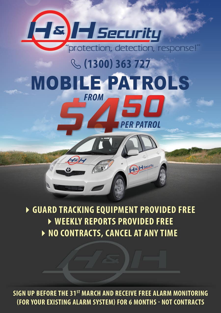 #15 for Design a Flyer for Mobile Patrol promotion by dalizon