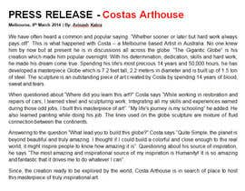 #9 untuk Costa Arthouse Writeup Competition oleh writersquality