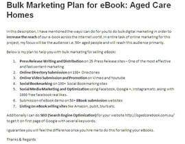 shailsonsl tarafından Assist me with Bulk Marketing for selling my eBook Aged Care Homes için no 7