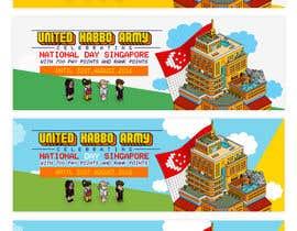 Nro 8 kilpailuun Design a website banner for singapore national day and habbo käyttäjältä ClaudiuTrusca
