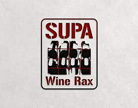 Nro 16 kilpailuun Supa Wine Rax Logo käyttäjältä andryod