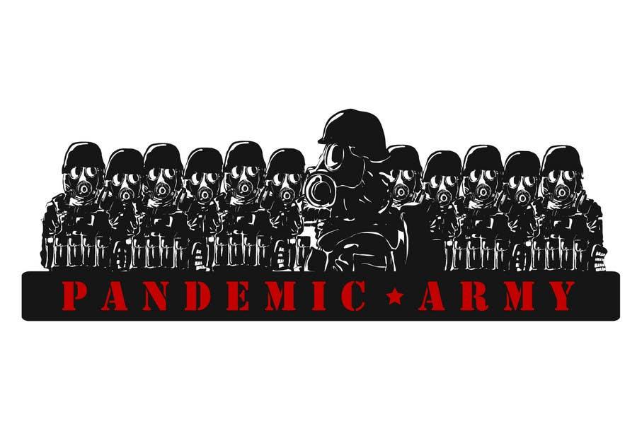 Konkurrenceindlæg #                                        23                                      for                                         Logo Design for Pandemic Army