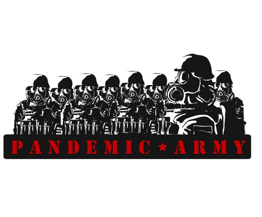 Konkurrenceindlæg #                                        21                                      for                                         Logo Design for Pandemic Army