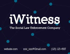 #6 for iWitness business card design by pavsidhu