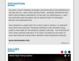 Nro 3 kilpailuun Design a Website Page Mockup käyttäjältä sheriffhosni