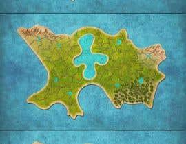 Nro 18 kilpailuun SVG fantasy map with countries. käyttäjältä sauravdhungana