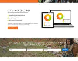 Nro 9 kilpailuun Design a Website Mockup käyttäjältä Ganeshdas