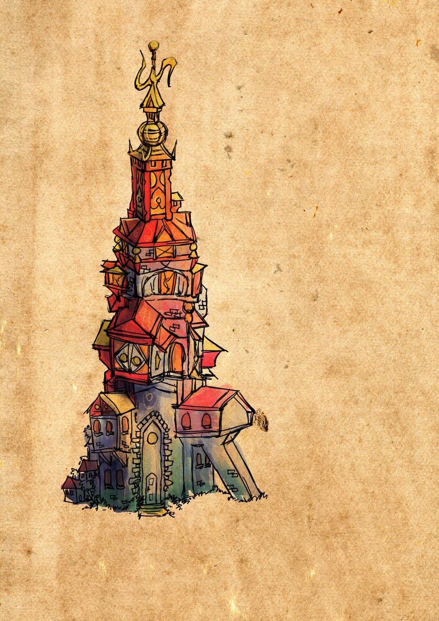 Konkurrenceindlæg #7 for Fantasy buildings for a new online game