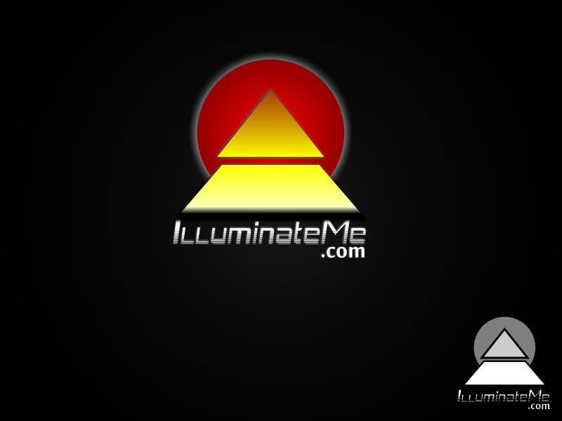 Penyertaan Peraduan #                                        110                                      untuk                                         Logo Design for IlluminateMe.com - A Crowdsourced News Site