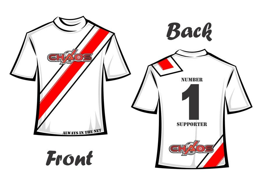 Penyertaan Peraduan #                                        11                                      untuk                                         Design a T-Shirt for our Youth Soccer Club