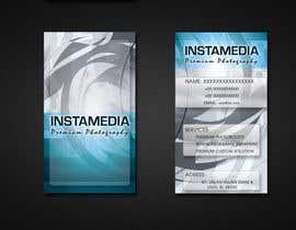 nº 77 pour Business Card Design for Creative Event company par Fiona77