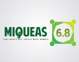 #11 para Design a Logo for Miqueas 6.8 por MinaMakar