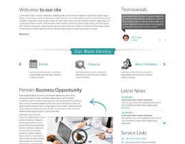 nº 68 pour Design Company logo and a mockup home page for the website. par deshiconcept