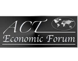 Nro 18 kilpailuun Design a Logo  for Economic Forum käyttäjältä edspen