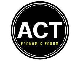 Nro 7 kilpailuun Design a Logo  for Economic Forum käyttäjältä swapnashet