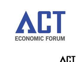 Nro 8 kilpailuun Design a Logo  for Economic Forum käyttäjältä swapnashet