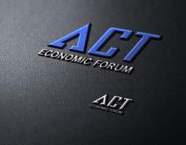 Nro 9 kilpailuun Design a Logo  for Economic Forum käyttäjältä swapnashet
