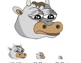 AleksicA tarafından Draw a cartoon cow character to be used as an emoticon için no 15