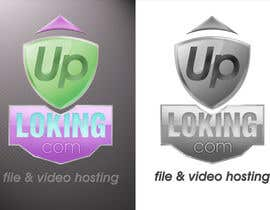 #68 for Logo Design for Uploking.com by paramiginjr63