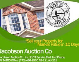 "#5 for 3""x4"" Advertisement Design; Auction Company; Needed ASAP by AuraCoders"
